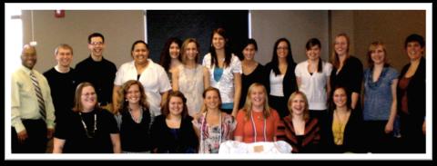 2011-2012 WSU NRHH staff