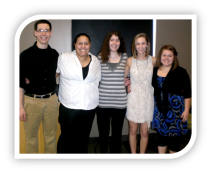 New NRHH members for the 2011-2012 school year